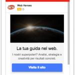 Annuncio mobile per Gmail
