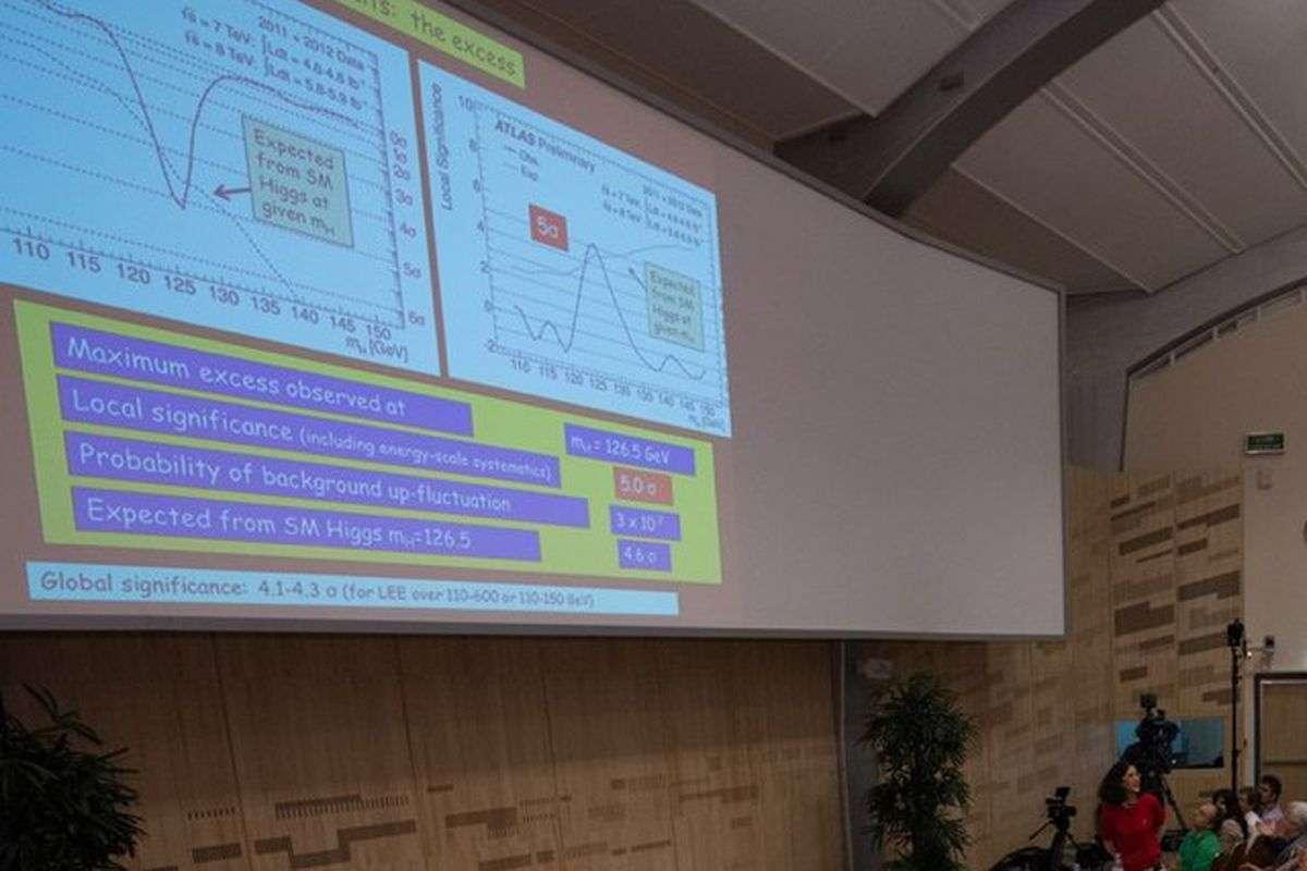 Comic sans usato dal CERN per la scoperta del bosone di Higgs