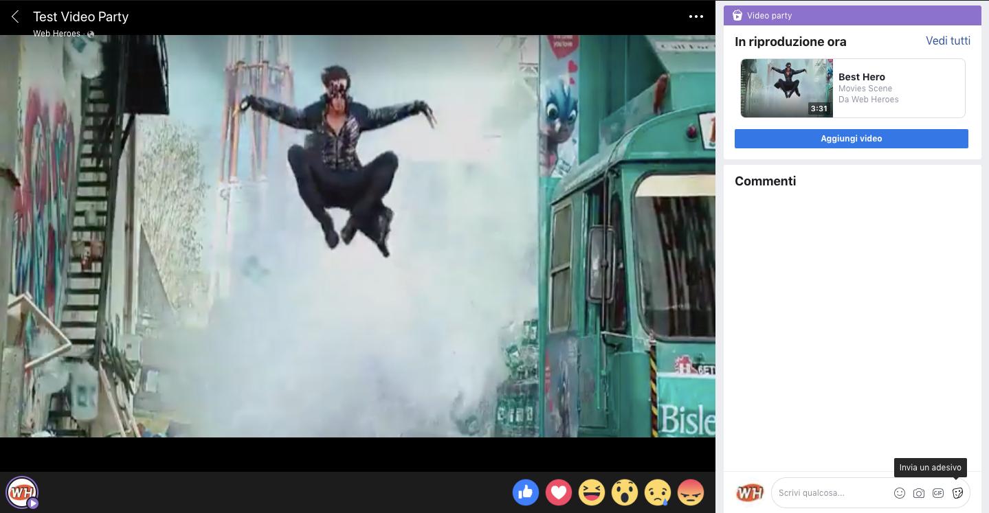 Facebook Video Party: cos'è e perché deve interessarti