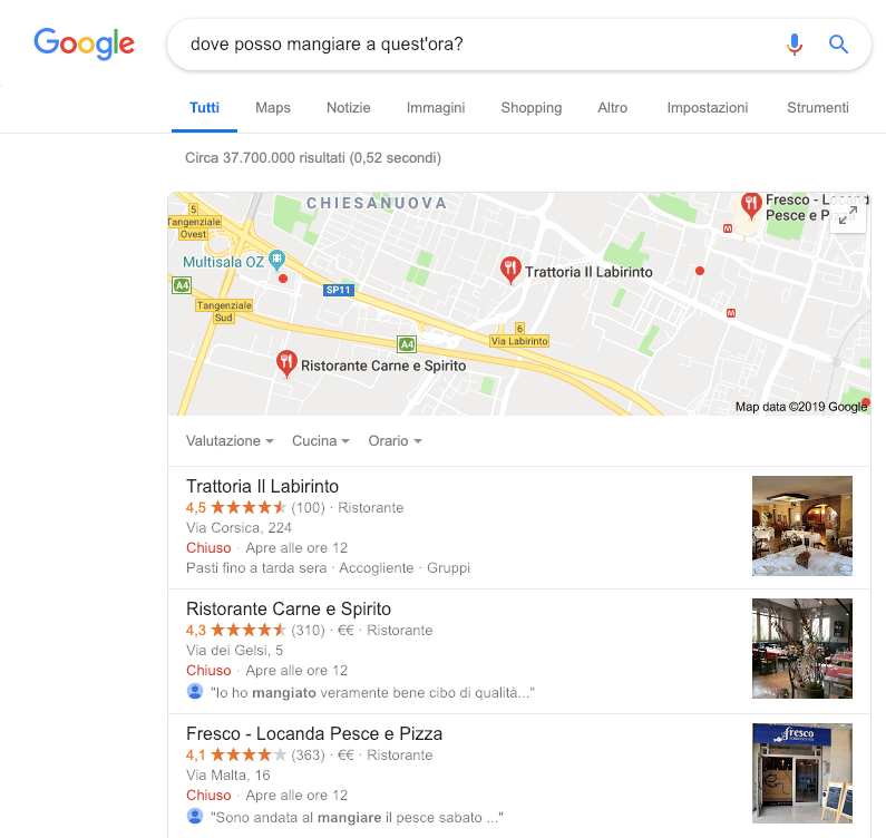 Google My business: Voice Search